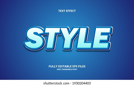 Editable 3D Text Effects Template