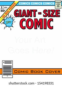 Editable Comic Book Cover!!!