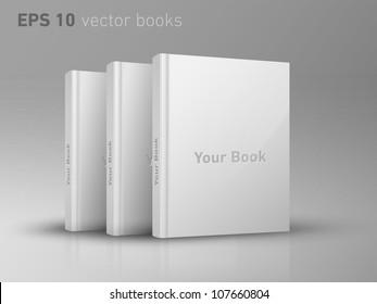 Editable EPS 10 vector books