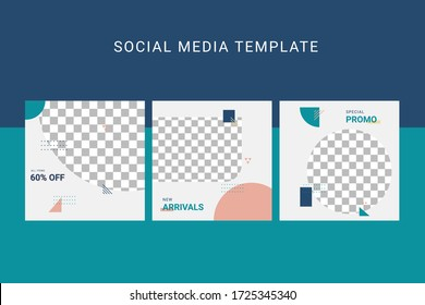 Editable social media template.Banners for Digital Marketing Ads. Promotion Brand Fashion. Stories. Streaming. Post.
