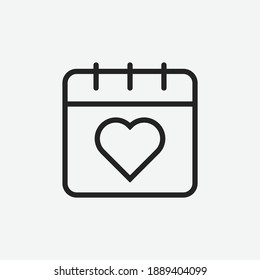Editable Special Event Line Art Icon Using For Presentation, Website And Application