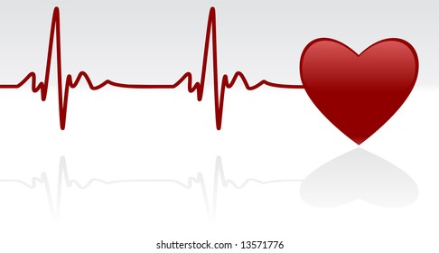 Heart Heartbeat Symbol Images Stock Photos Vectors Shutterstock
