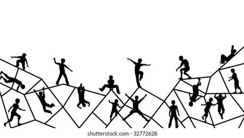 Ladder Climbing Harness