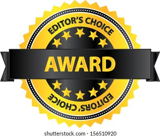 Editors Choice Award Best Product Badge
