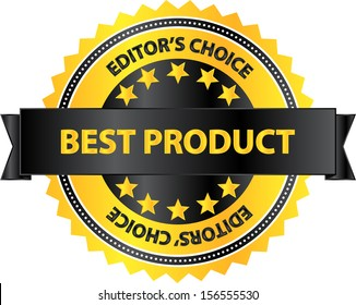 Editors Choice Best Product Of The Year Badge