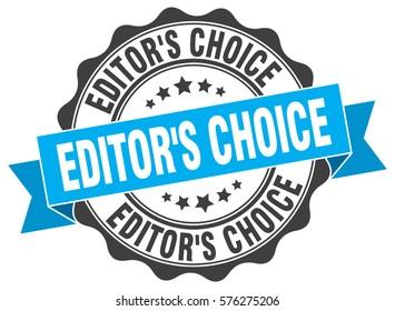 editor s choice. stamp. sticker. seal. round grunge vintage ribbon editor s  choice sign 1c564005baf43