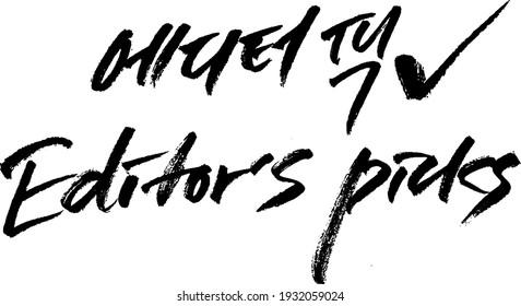editor's pick news keyword korean alphabet calligraphy typography hand write brush pen draw black text keyword