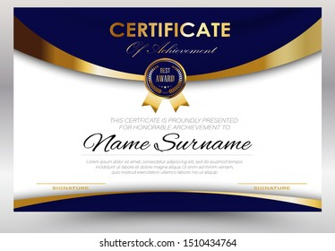 Education certificate template diploma,Vector luxury modern design, Award Background Gift