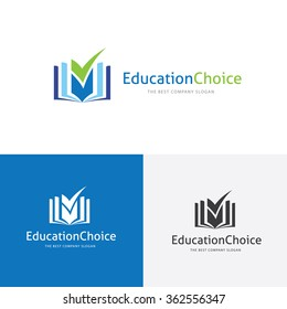 Education Choice Learning Logo Template