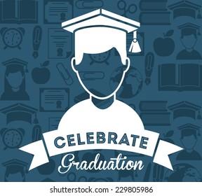 education graphic design , vector illustration