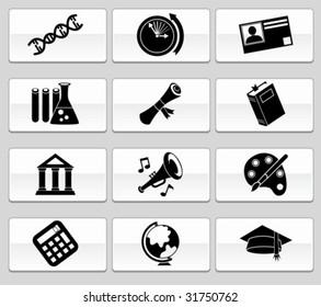 Education Icon Glide Set