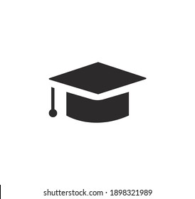 Education icon vector on a white background