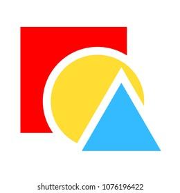 education icon - vector school symbols, learning student illustration sign