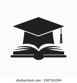 education icon vector sign symbol isolated