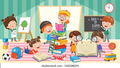 Education Of Little Preschool Children