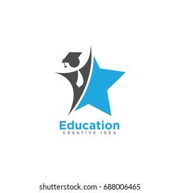 education logo images stock photos vectors shutterstock