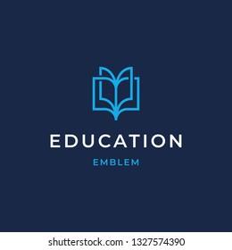 Education Logo Design Template