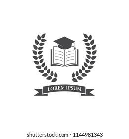 education logo icon vector template