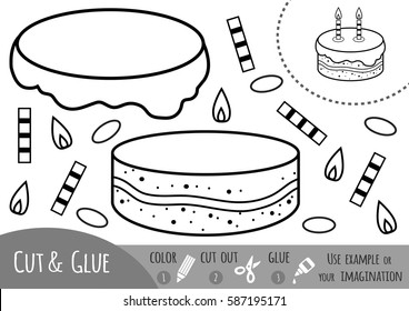 education paper game children cake 260nw