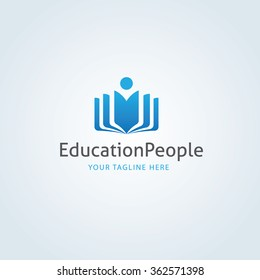 Education People Logo Template