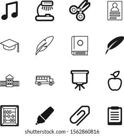education vector icon set such as: station, house, write, organic, construction, address, travel, decoration, arithmetic, energy, access, stationery, cap, presentation, market, clipboard, furniture