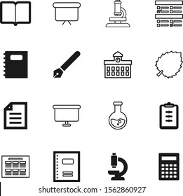 education vector icon set such as: liquid, pictogram, environment, survey, organizer, fountain, date, gray, ring, experiment, marketing, success, building, plant, detail, beaker, high, file, calendar