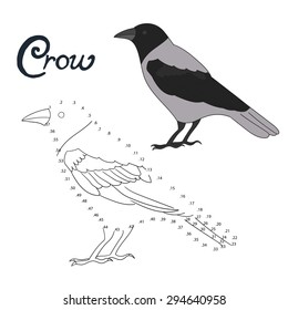Crow Coloring Book Hd Stock Images Shutterstock