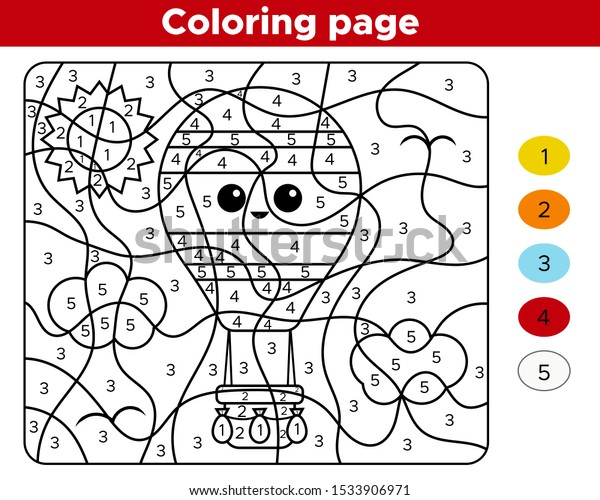 Number Coloring Pages For Toddlers #4609 Numbers Coloring Pages ... | 500x600