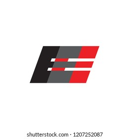 EE logo letter design