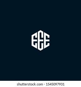 EEE initials logo designs vector template