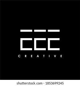 EEE Letter Initial Logo Design Template Vector Illustration
