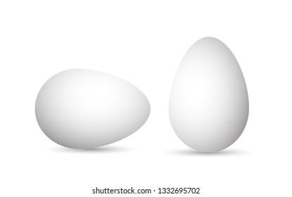 Egg template for easter. Pictogram.