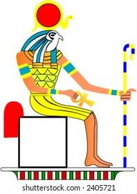 Egyptian god Ra