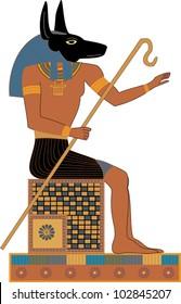 Egyptian Gods - Anubis