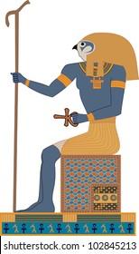 Egyptian Gods - Horus