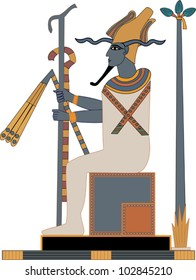 Egyptian Gods - Osiris