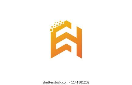 EH initial logo