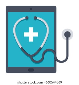 e-health concept for health care practice supported by electronic processes and communication
