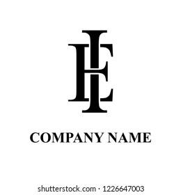 EI Company initial logo design