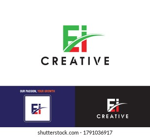 EI Logo Design - ei Logo Vector For Company/Business