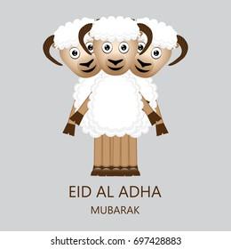 Eid al Adha Mubarak Card