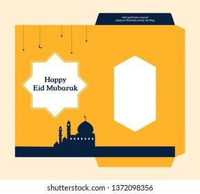 Eid Envelope Template Images Stock Photos Vectors Shutterstock