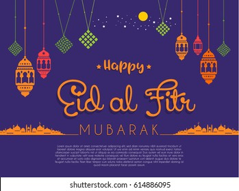 Top Kid Backyard Party Eid Al-Fitr Decorations - eid-al-fitr-vector-background-260nw-614886095  Trends_655666 .jpg
