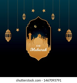 Eid al-Adha Islamic holiday festival design