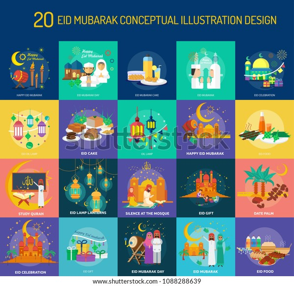 Eid Mubarak Conceptual Design