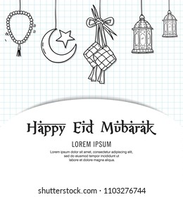 Eid Mubarak Icons Images Stock Photos Vectors Shutterstock