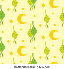 Eid mubarak seamless pattern
