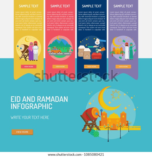 Eid and Ramadan Infographic