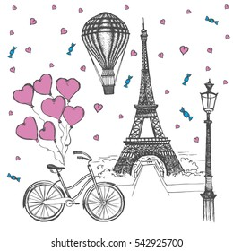 Eiffel Tower Background Images Stock Photos Vectors Shutterstock