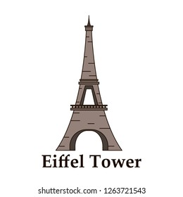 eiffel tower architecture from paris france
